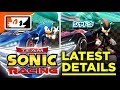 Team Sonic Racing - More Details on Gameplay Features! Jun Senoue Confirmed Sound Director!