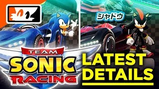 Team Sonic Racing - More Details on Gameplay Features! Jun Senoue Confirmed Sound Director! thumbnail