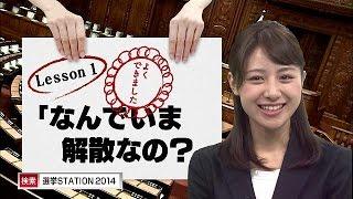林美沙希と学ぶ『モットおしえて!総選挙』第1回(14/12/02) 美沙希 検索動画 19