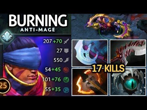 BurNIng [Anti Mage] TryHard His Signature hero Unreal Comeback 7.21 Dota 2 thumbnail