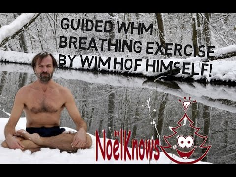 GUIDED WHM BREATHING EXCERCISE by Wim Hof - SIMPLE & EASY -step by step