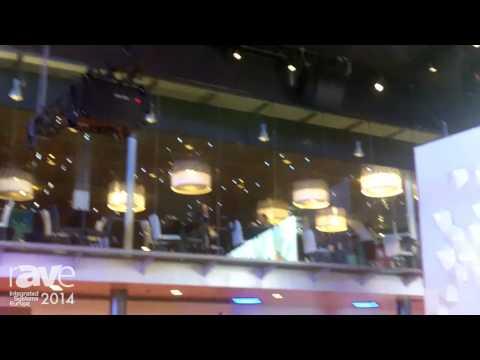 ISE 2014: Barco Exhibits HDX-W20 FLEX 20,000 Lumen Projector