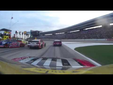 Jeff Gordon 2014 AAA Texas 500 onboard last 130 laps from Texas Motor Speedway