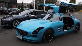 Silnik Elektryczny w Rowerze w Kształcie Mercedesa SLS!