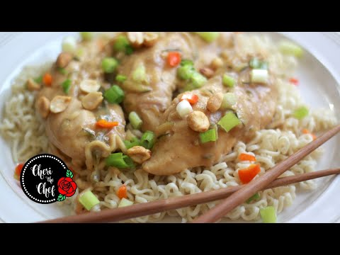 how-to-cook-peanut-butter-chicken- -easy-slow-cooker-recipe!