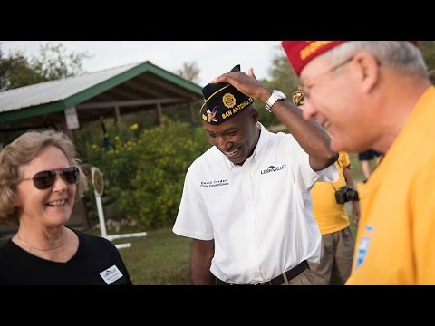 National Commander Speaks On American Legion Membership