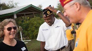 National Commander speaks on American Legion membership