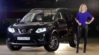 Фото New Nissan X Trail теcт драйв в программе Москва рулит