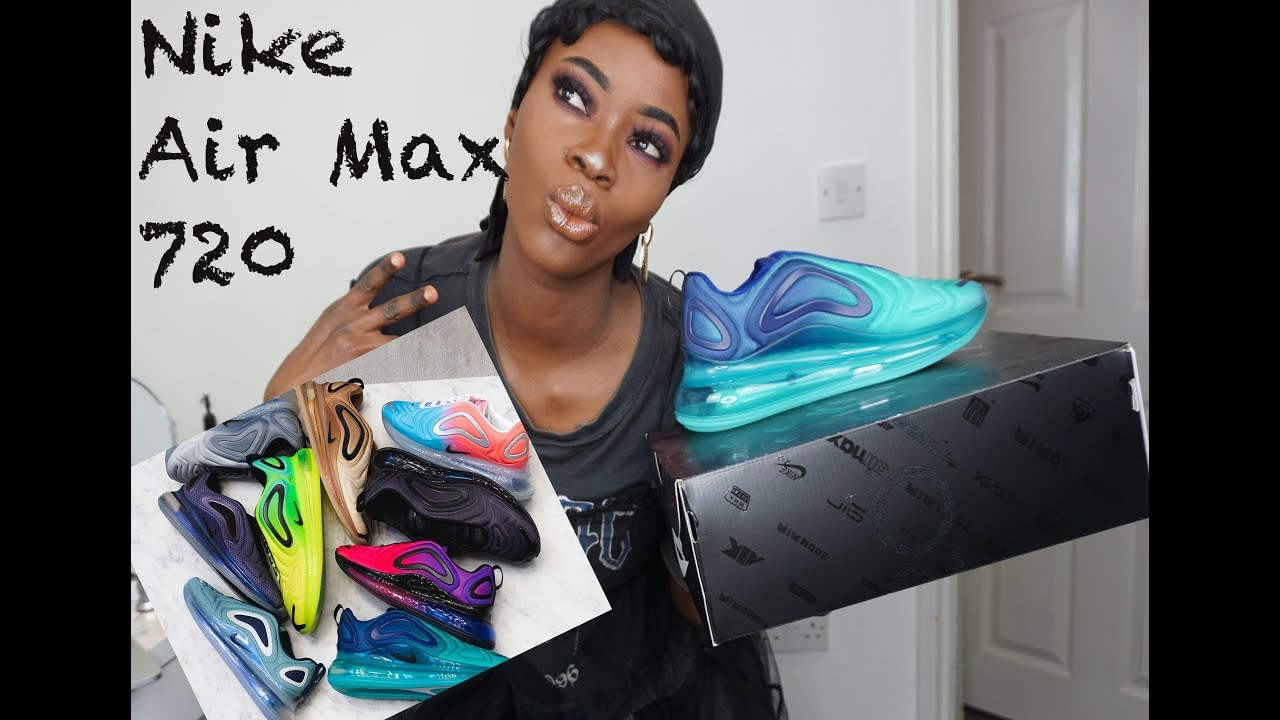 How To Style Nike Air Max 720 Review Unboxing On Feet Youtube