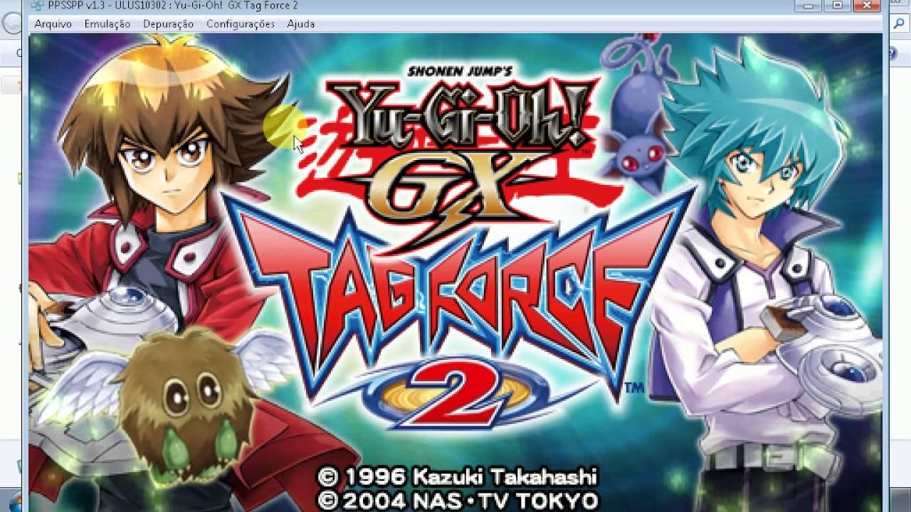 GX JOGO TAG FORCE YU-GI-OH PS2 O BAIXAR