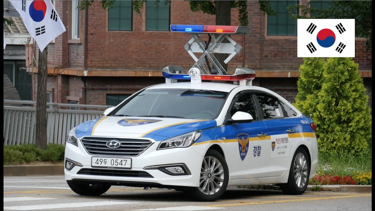 *SPECIAL* Seoul (South Korea) Police Car With [Extendable ...