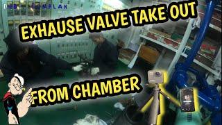Disassemble Chamber Exhause Va…
