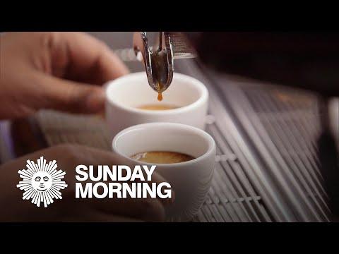 A perfect cup of espresso