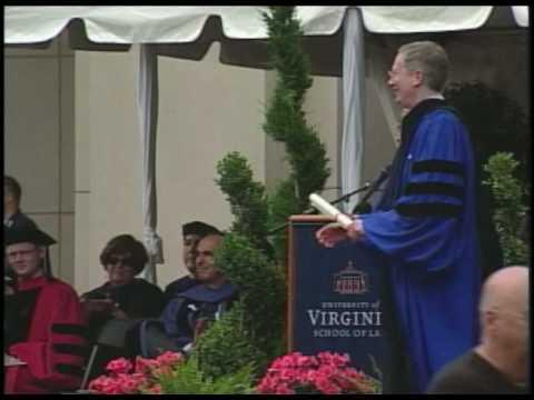 2010 University of Virginia School of Law Commencement Ceremony
