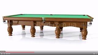 видео Бильярдные столы,аксессуары для бильярда,минибильярд,продажа и обслуживание