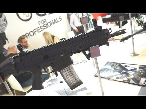 Czech Republic firearms manufacturer CZ Bren 2 assault rifle Eurosatory 2016 defense exhibition
