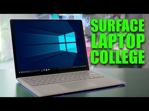 Surface Laptop Review - Microsoft Take On College Life
