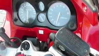 Honda CBR 1000F SC24 engine start