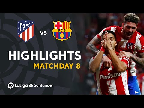 Resumen de Atlético de Madrid vs FC Barcelona (2-0)