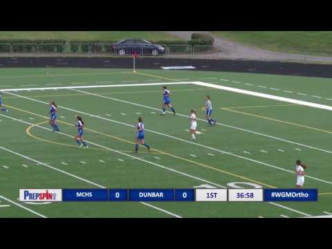 Dunbar vs Madison Central - Girls HS Soccer