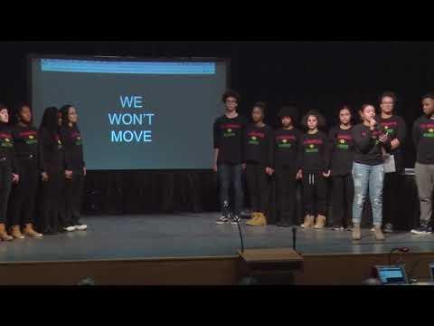 Skyline Senior Zori Martinez Sings We Won't Move
