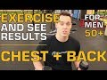 The Way to Exercise for Older Men, and See Results! Chest & Back