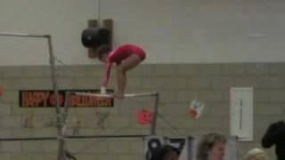 Level 7 - First Gymnastics Meet - Age 9