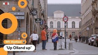 Lucas zoekt Oranje-fans in Frankrijk