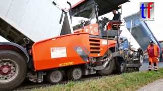 2x Vögele Super 1803-2, Bomag BW154 ACP, ... / Sanierung K1847 Leutenbach, 19.08.2015.