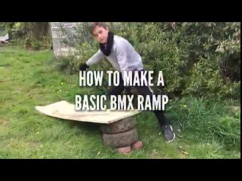 How to build a diy ramp in your back garden!