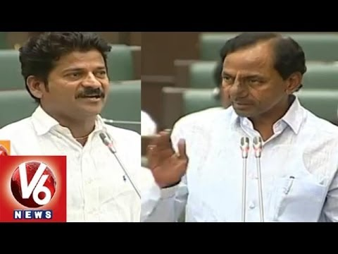 CM KCR Counter To Revanth Reddy in Telangana Assembly || V6 News