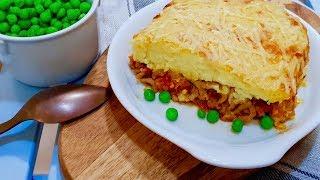 """Рецепт просто находка """"Пастуший пирог"""". Необыкновенно вкусный, сытный, похож на запеканку"""