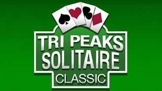 Tri Peaks Solitaire Classic - Walkthrough - FREE PLAY (◕‿◕)
