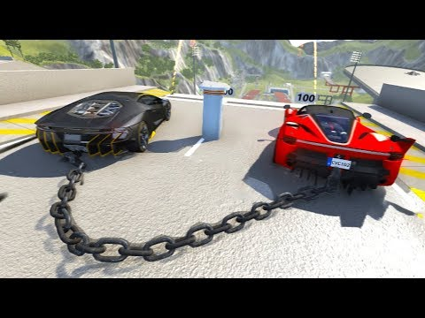 High Speed Jumps Compilation #4 - Beamng Drive (BeamNG Drive Crashes)