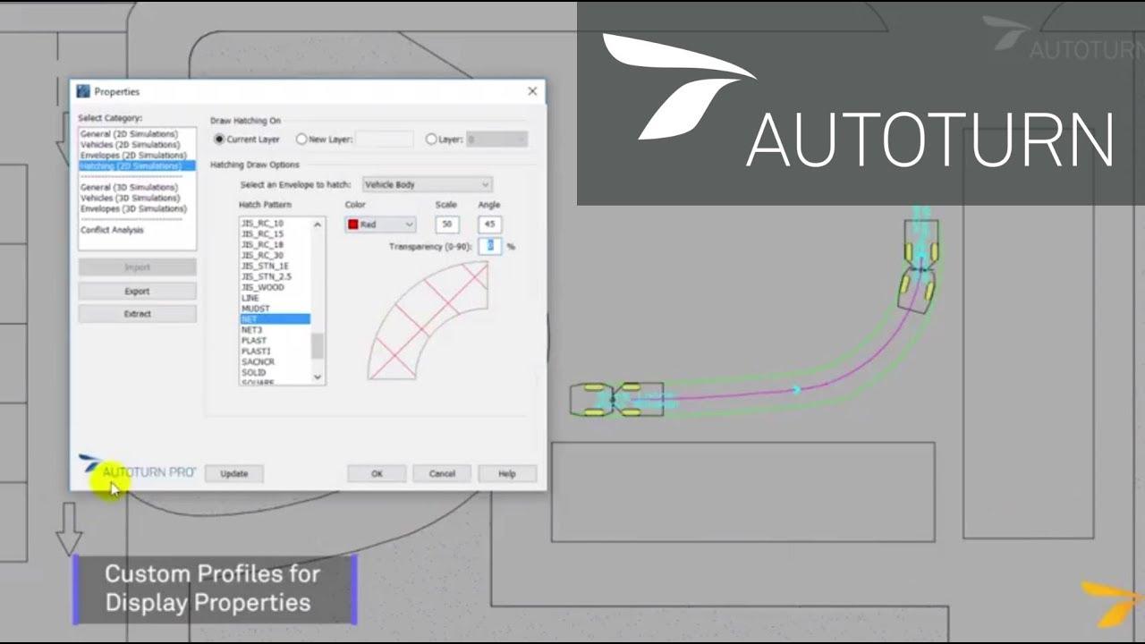 Vehicle Swept Path Analysis | AutoTURN 10 1
