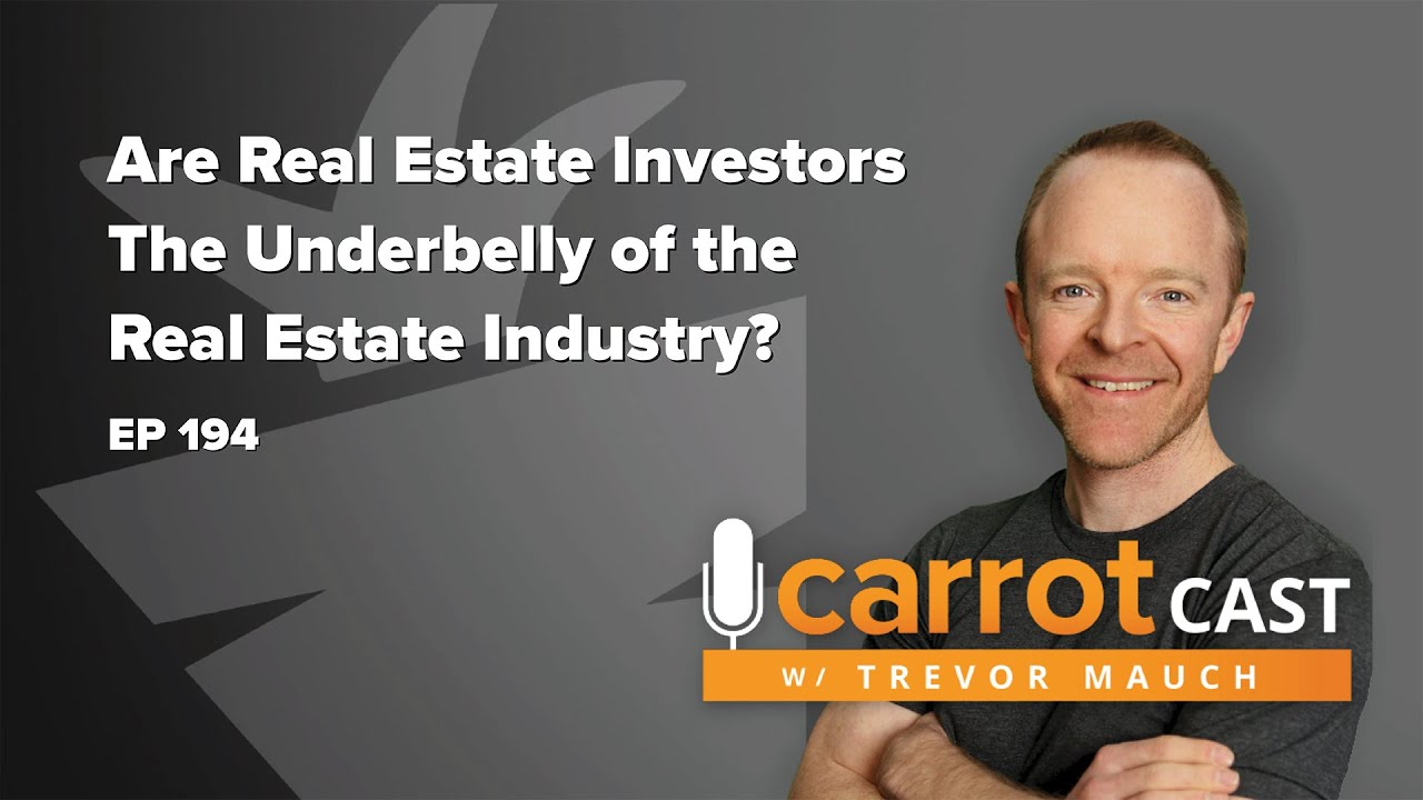 Are Real Estate Investors The Underbelly of The Real Estate Industry?