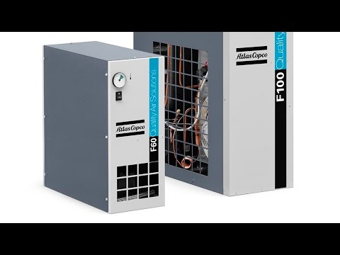 F series refrigerant air dryers compact and efficient dry air