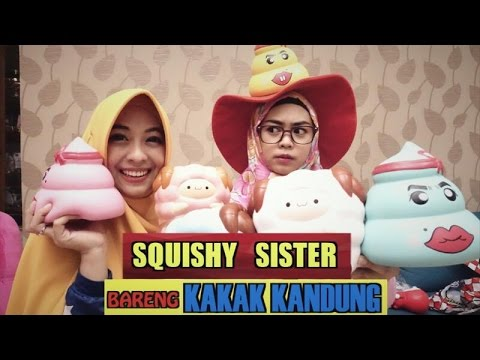 SQUISHY SISTER with SISTER part1 - Ria Ricis - YouTube