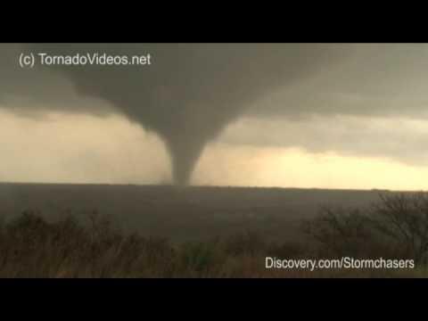 EXTREME Tornado Video! April 26, 2009 - Northwest Oklahoma