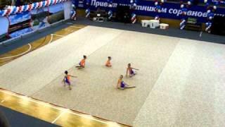Художественная гимнастика.  2005 г.р.