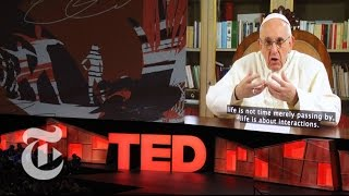 Pope Francis Urges Humble Leadership In First TED Talk   The New York Times