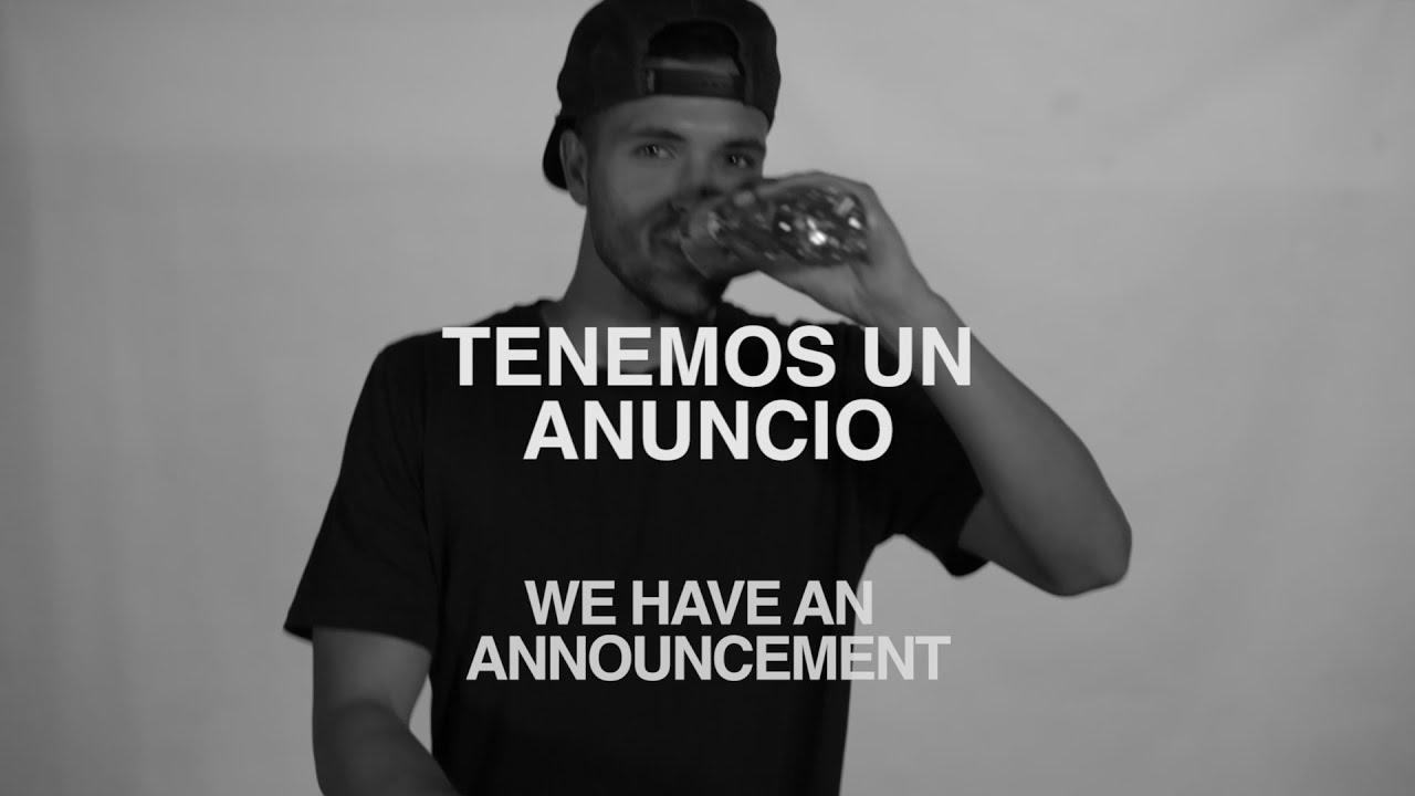 Vida Tú Me Das - Special Announcement
