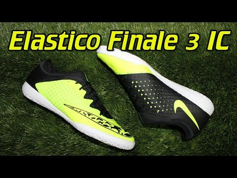 Nike Elastico Finale 3 Indoor Volt/Black - Review + On Feet
