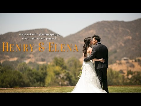 Henry & Elena | Santa Monica Mountains Wedding at Sherwood Country Club in Thousands Oaks, CA