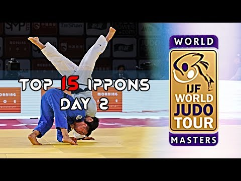 Top 15 Ippons In Day 2 Of World Judo Masters Qingdao 2019
