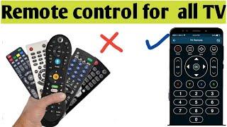Remote control for all TV | smartphone ko TV remote kaise banaye | TV remote control app screenshot 3