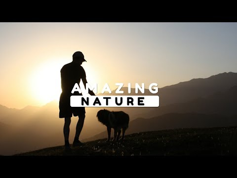 Beautiful Nature Video in Full HD - Gamarvan Village - Peak Charkh - Episode 1 - 8 Minute