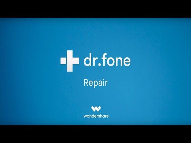 Entre para ganhar: 24 keys do Dr Fone Repair, resolve problemas de update e falhas no iOS!