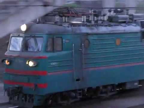ВЛ82М-055 C поездом № 375 Харьков - Херсон