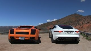 Jag vs. Lambo:  Which sounds better!?